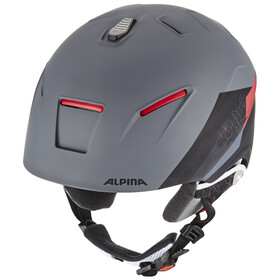 Alpina Cheos - Casco de bicicleta - rojo/negro